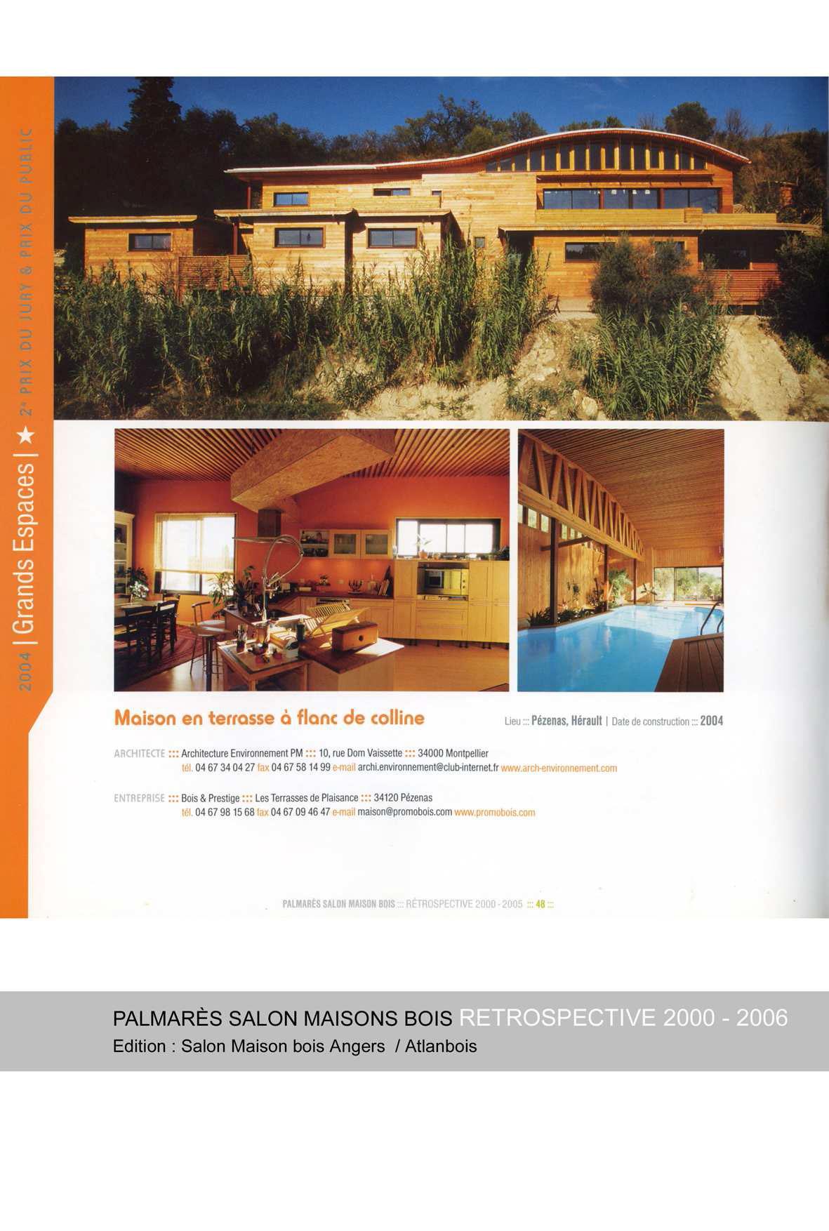 palmares-salon-maison-bois-dangers-retrospective-2000-2005-maison-en-terrasse-a-flanc-de-colline