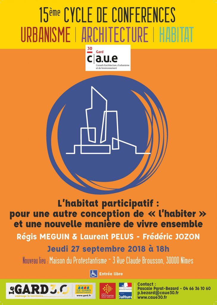 Affiche conférence du jeudi 27 septembre 2018 à 18