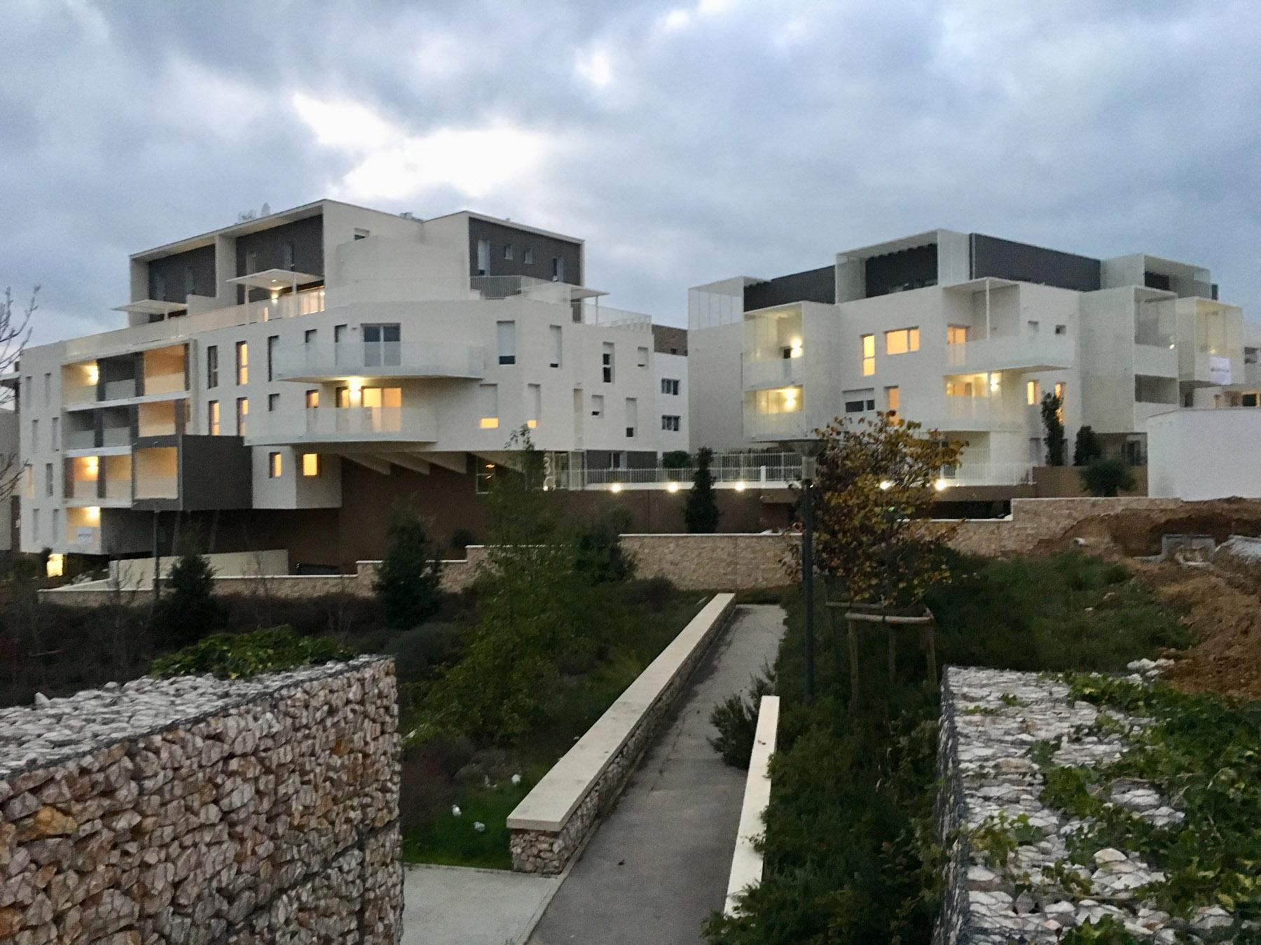 Résidence Collinéa, construction de 75 logements collectifs à Prades le Lez