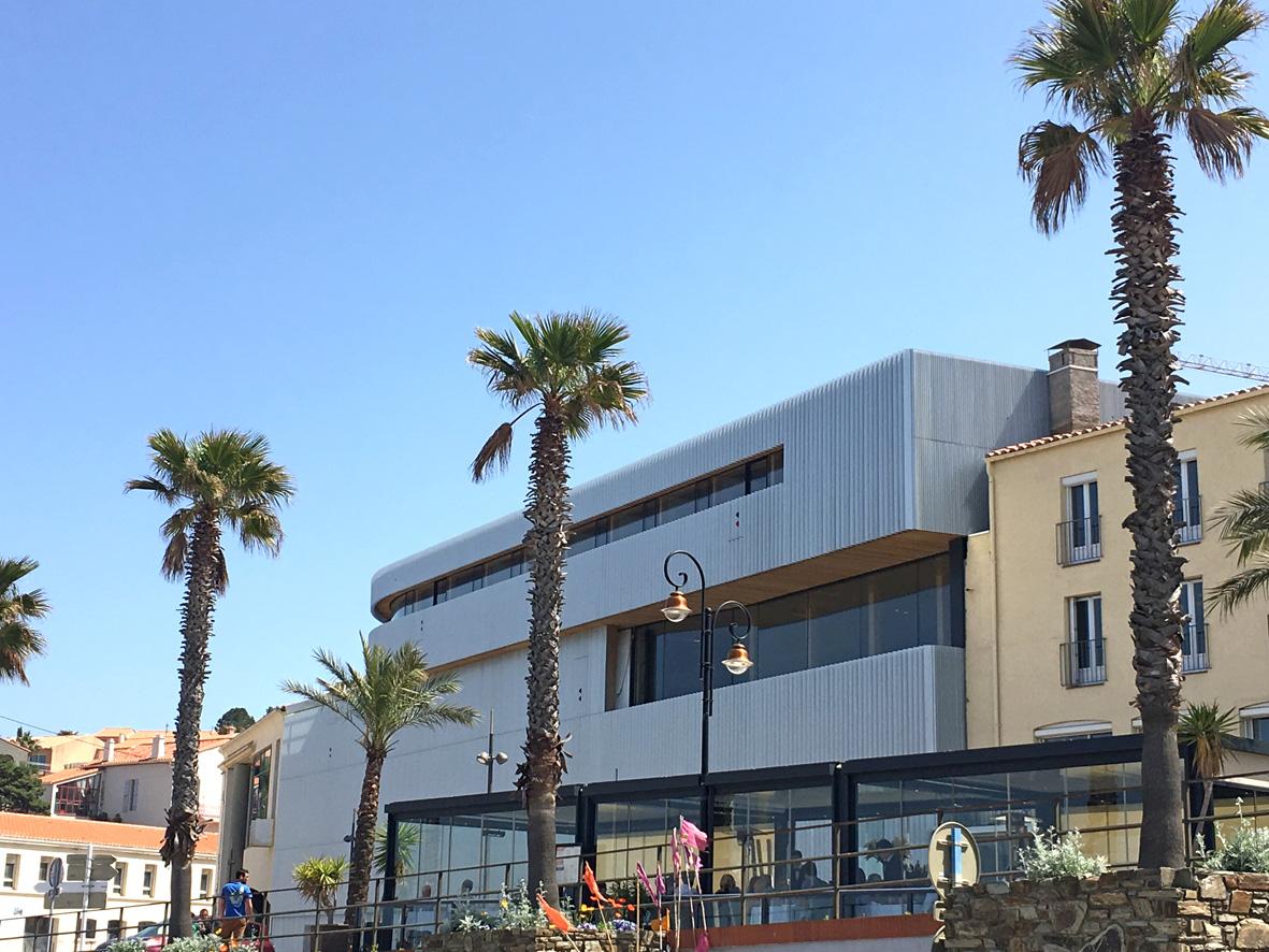 Biodiversarium - aquarium et laboratoires de recherches_Vue sur l'entrée du bâtiment