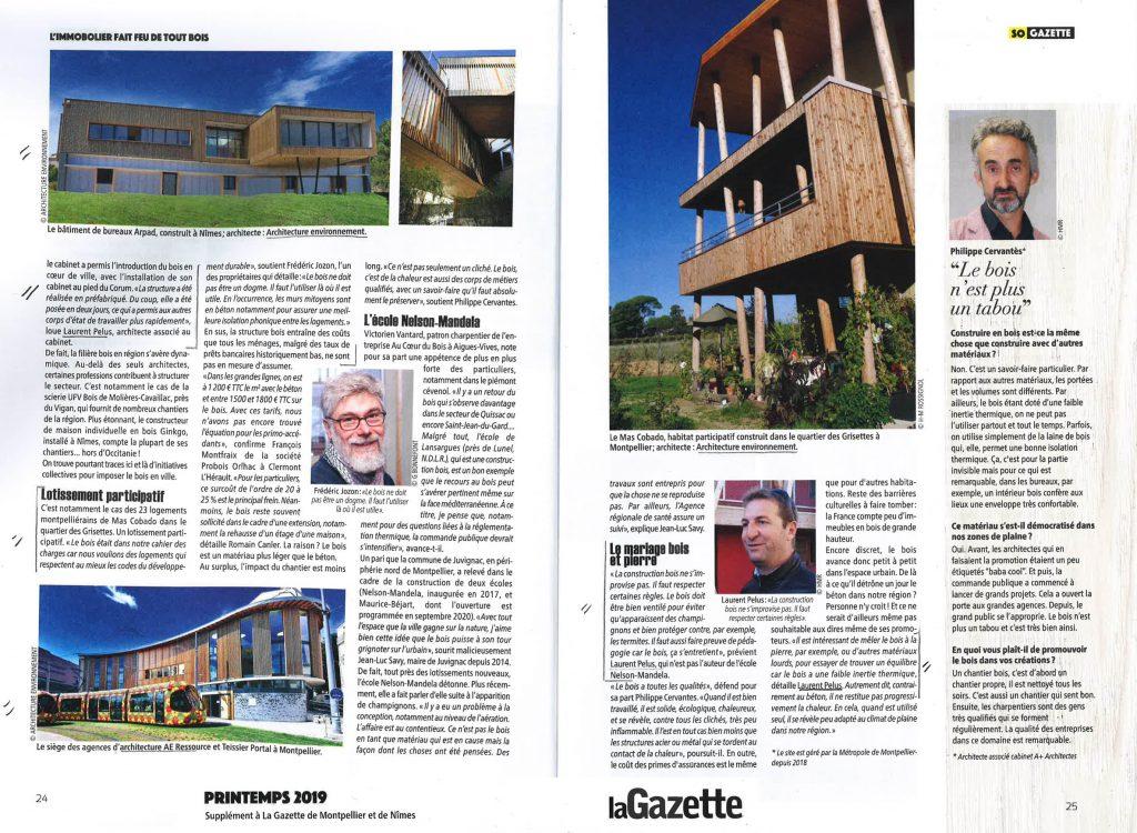 Supplément à la Gazette de Montpellier et de Nîmes - Printemps 2019 partie 2/2