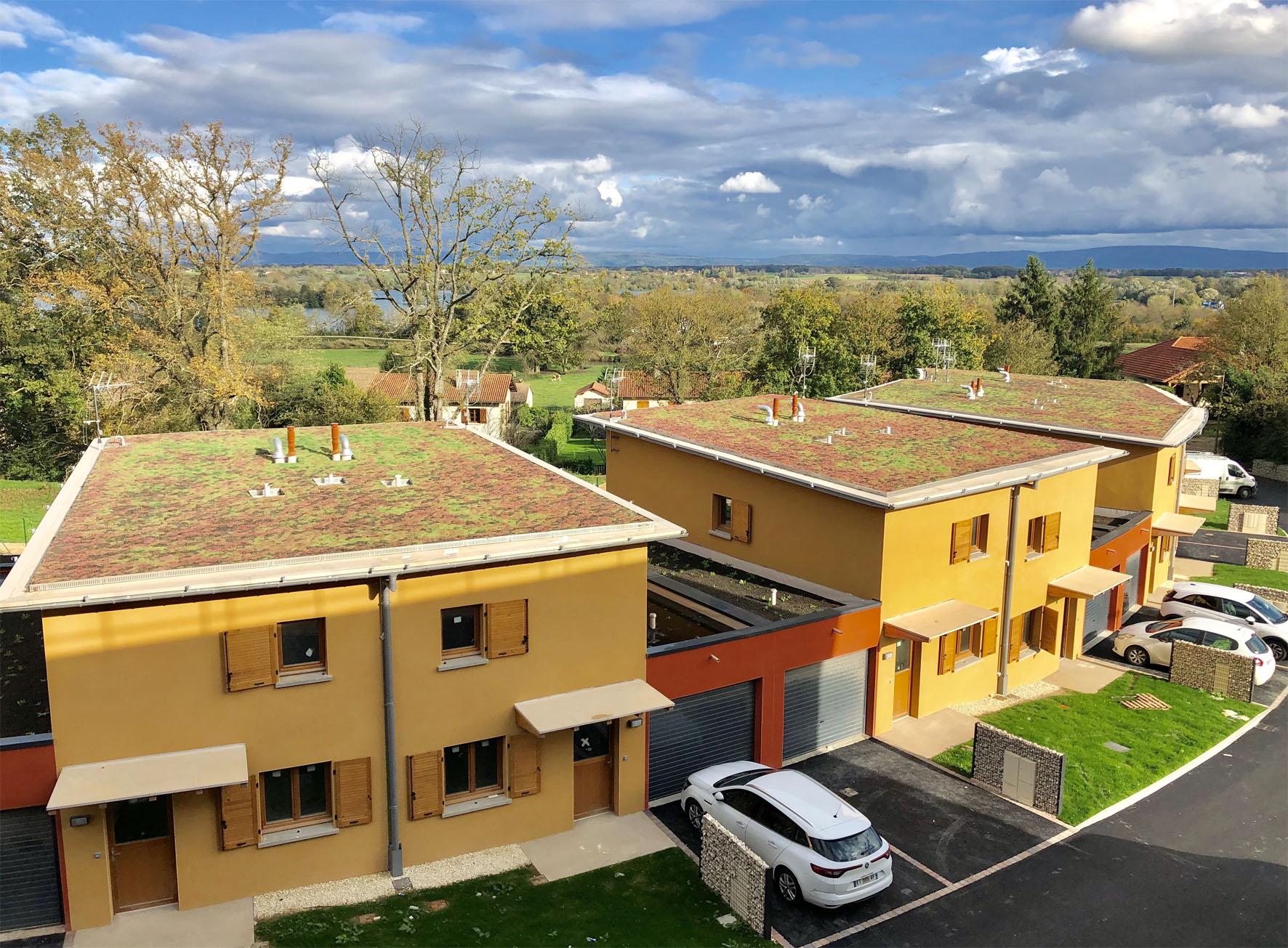 Montrevel en Bresse - Jayat - logements individuels