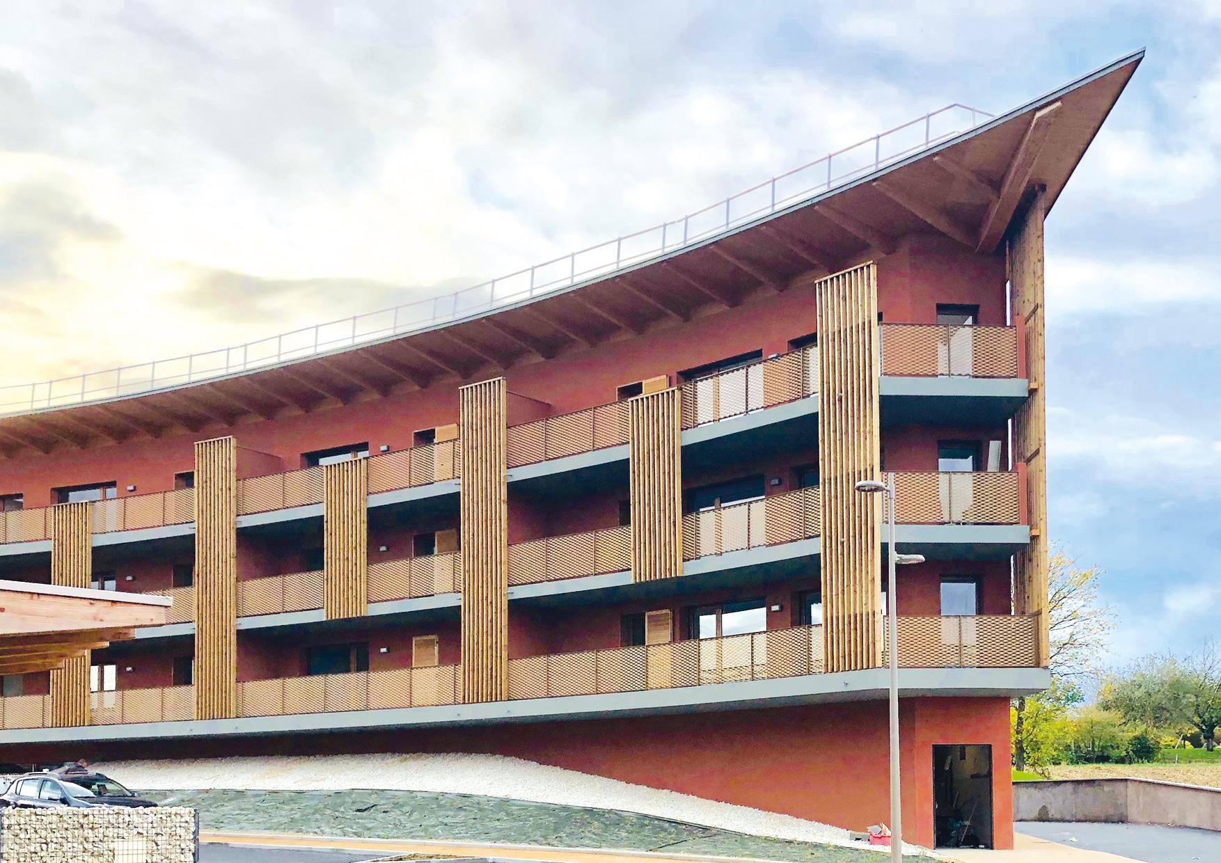 Montrevel en Bresse - Jayat - Immeuble collectif