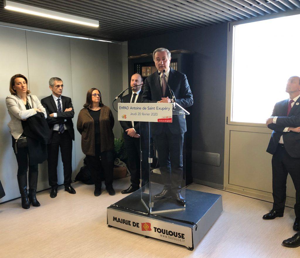 EHPAD Toulouse Antoine de St Exupéry_inauguration