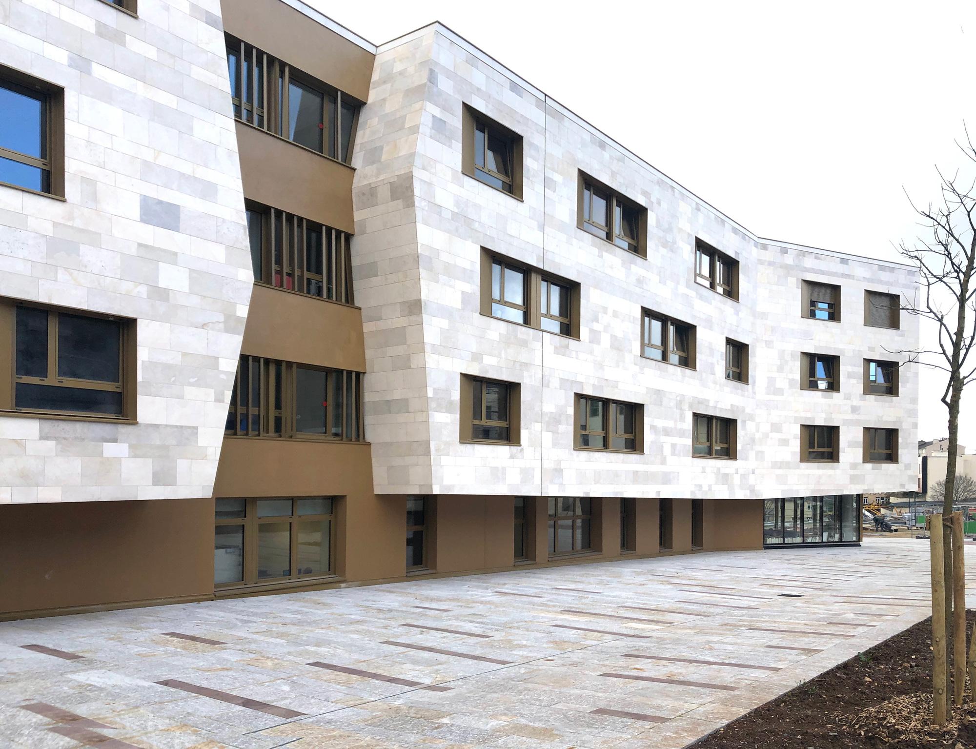 EHPAD Combarel - Rodez_ vue latérale